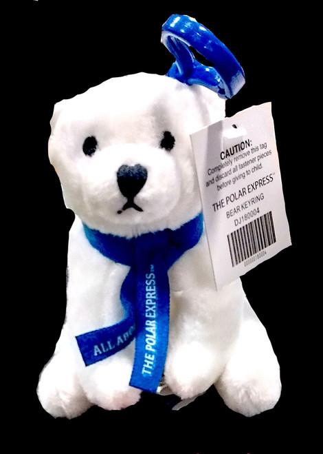 The Polar Express™ Polar Bear Key Ring - Blue Scarf