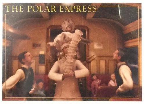 "The Polar Express™ ""Time For Hot Chocolate"" Print"