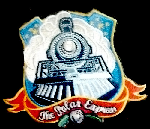 The Polar Express™ Embroidered Patch