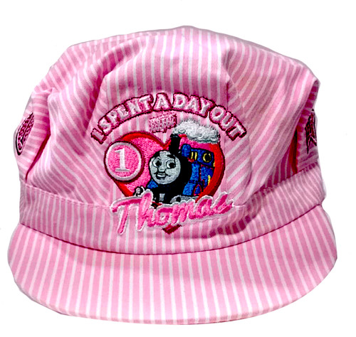 Thomas & Friends™ Pink Striped Engineer Hat