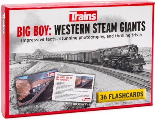 Trains® Big Boy Western Steam Giants Flashcards