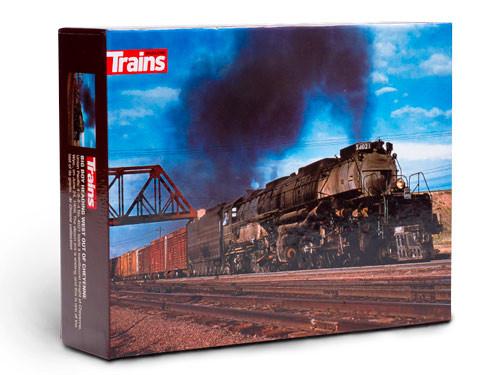 Trains® Big Boy Heading West Out of Cheyenne 550-Piece Puzzle