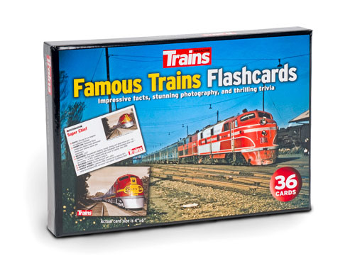 Trains® Famous Trains Flashcards