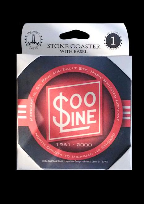 Soo Line Railroad Coaster