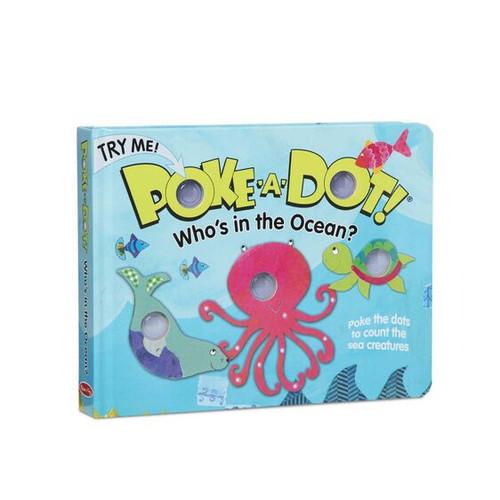Melissa & Doug® Poke-A-Dot Book: Who's in the Ocean?
