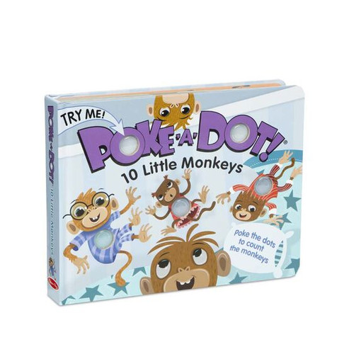 Melissa & Doug® Poke-A-Dot Book: 10 Little Monkeys