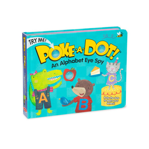 Melissa & Doug® Poke-A-Dot Book: Alpha Eye Spy