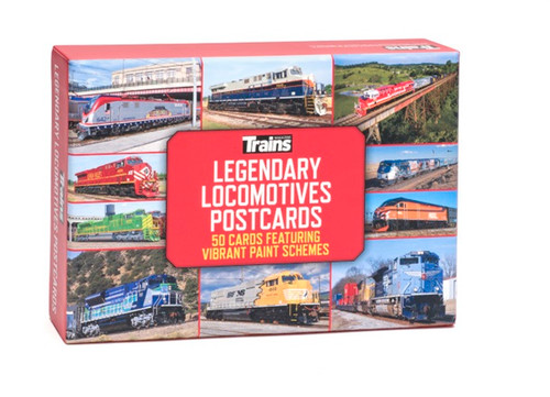 Trains® Legendary Locomotives Postcards