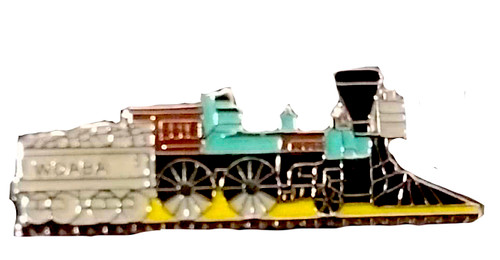 Steam Locomotive Pin