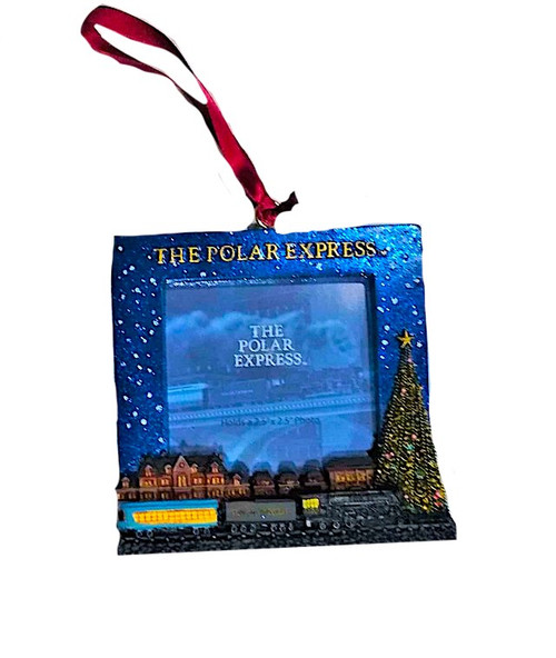 The Polar Express™ Picture Frame Ornament