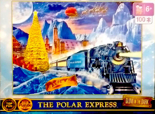 The Polar Express™ Glow-in-the-Dark 100-Piece Puzzle