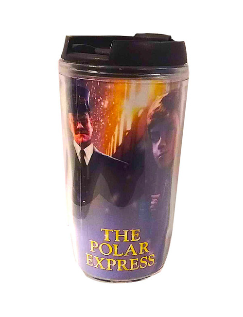 The Polar Express™ Conductor and Hero Boy Plastic Tumbler