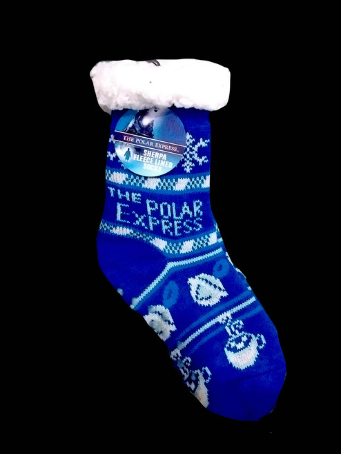 The Polar Express™ Sherpa Fleece Lined Socks
