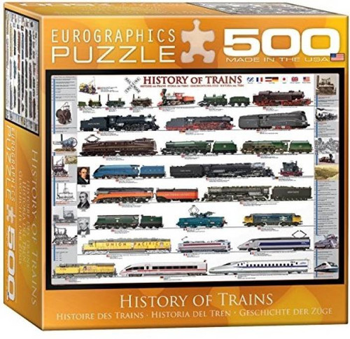 History of Trains Puzzle