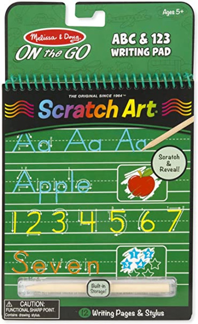 Melissa & Doug On the Go Scratch Art