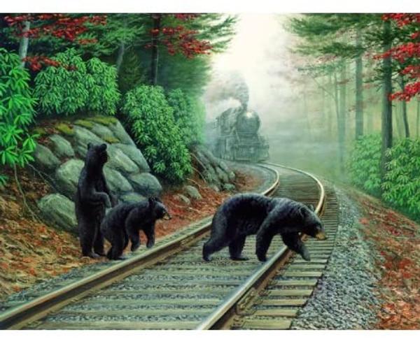 Bear Tracks Puzzle