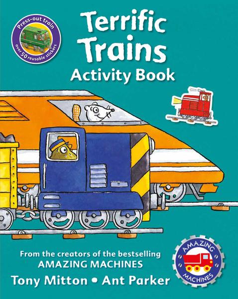 Terrific Trains Activity Book