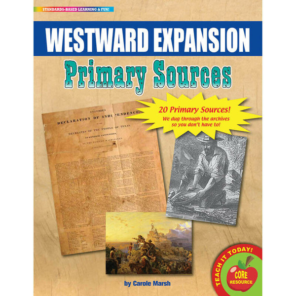 WestwardExpansion Primary Sources