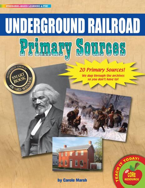 Underground Railroad Primary Sources