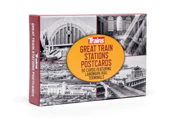 Great Train Stations Postcards
