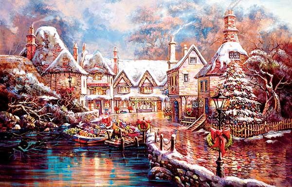 """Christmas Cove"" 1000 piece puzzle"