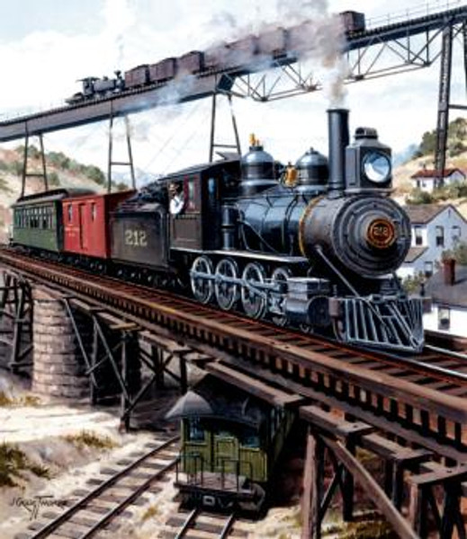 Locomotive CXB 14919 550-piece puzzle