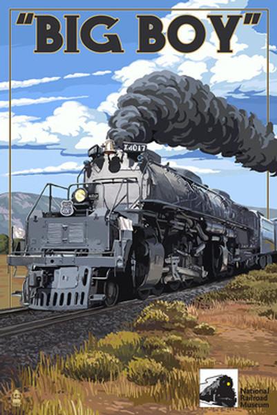 NRM U.P. Big Boy Locomotive #4017 Puzzle