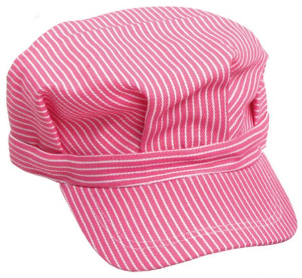 Engineer Hat - Pink Stripe