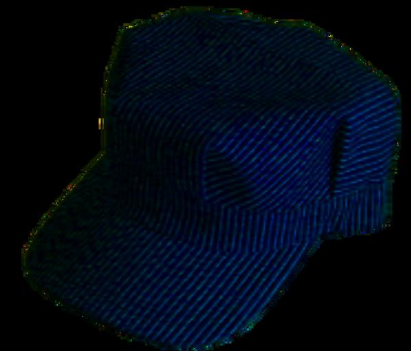 Engineer Hat - Dark Blue Stripe