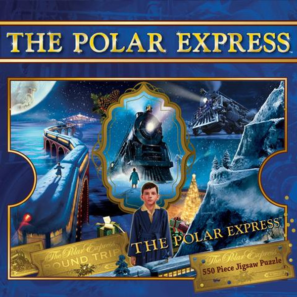 The Polar Express™ 550-Piece Jigsaw Puzzle