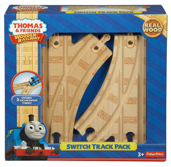 Thomas & Friends™ Wooden Railway Switch Track Pack