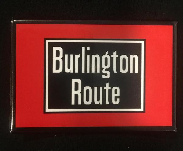 Burlington Route Magnet