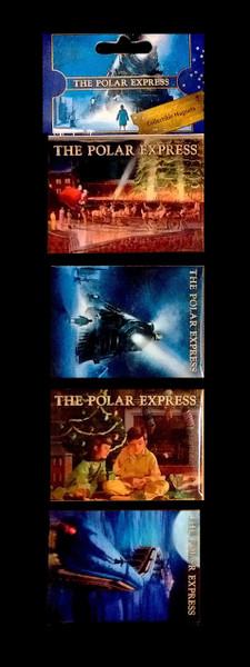 The Polar Express™ 4-piece Collectible Magnets