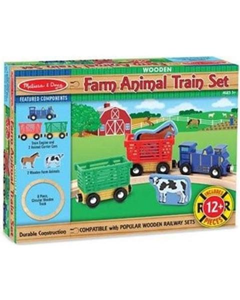 Melissa & Doug® Farm Animal Train Set
