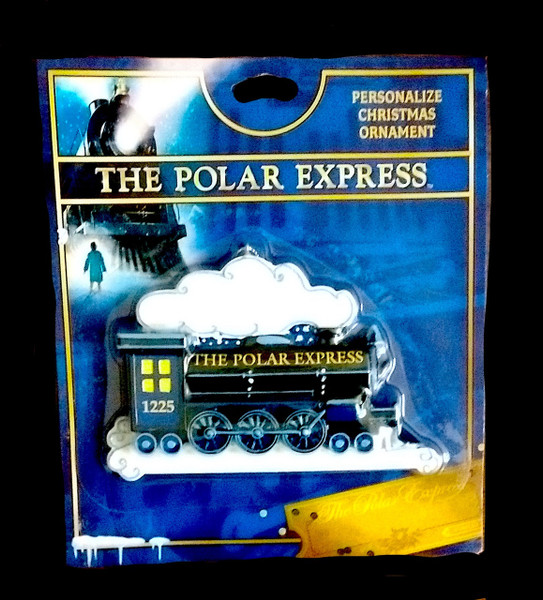 The Polar Express™ Personalize Christmas Ornament
