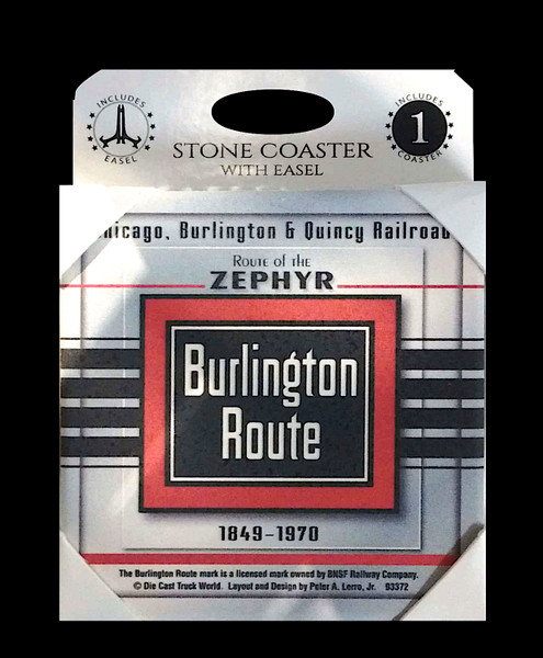Burlington Route Coaster