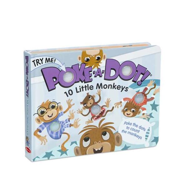 Melissa & Doug® Poke-A-Dot Book: 10 Little Monkeys