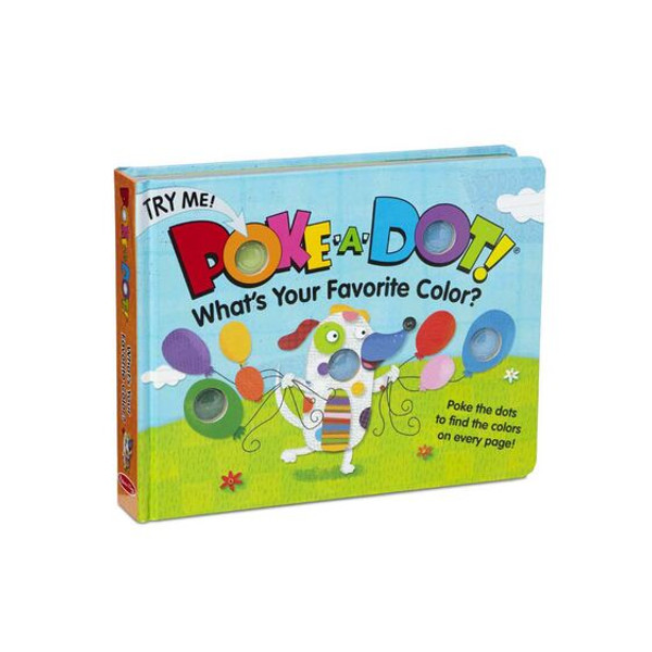 Melissa & Doug® Poke-A-Dot Book: Favorite Color