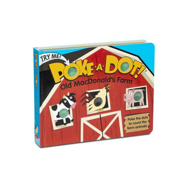 Melissa & Doug® Poke-A-Dot Book: Old MacDonald's Farm