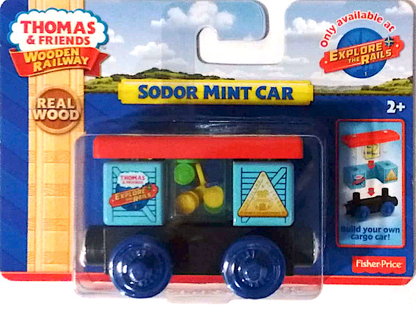 Thomas & Friends Wooden Railway Collectible Sodor Mint Car