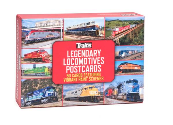 Trains® Legendary Locomotives Postcards
