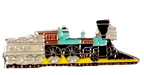 Steam Locomotive Pin