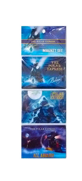 The Polar Express™ 3-Piece Collectible Magnets
