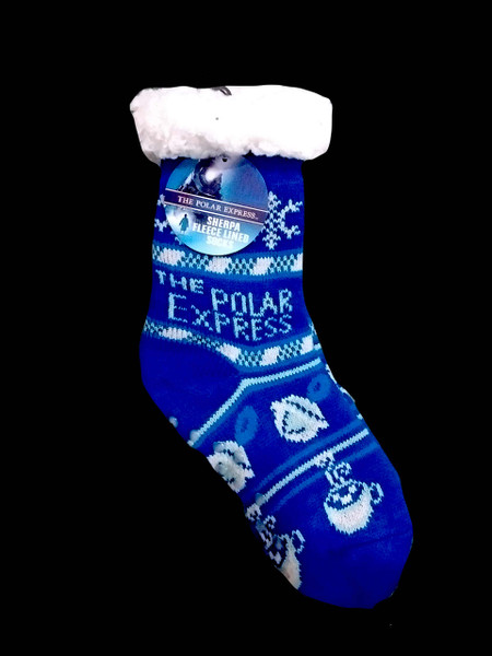 The Polar Express™ Sherpa Fleece Lined Socks