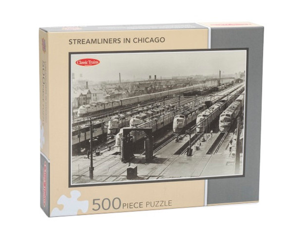 Classic Trains Streamliners in Chicago