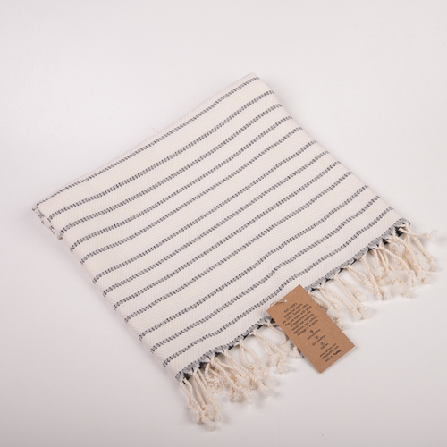 Carmen Ivory Kitchen Towel [Peshkir, Face & Hand Turkish Towel]