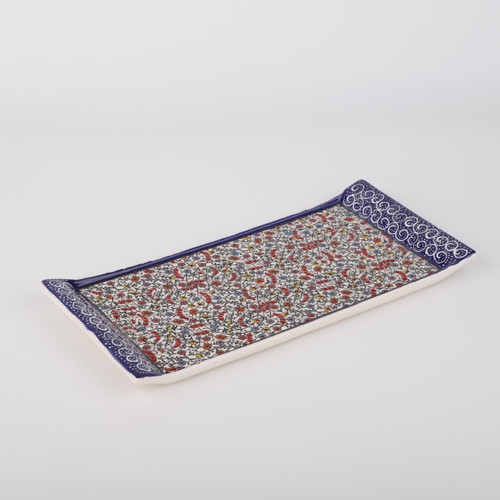 Halic Ceramic Tray / Serving Platter - 13.4""