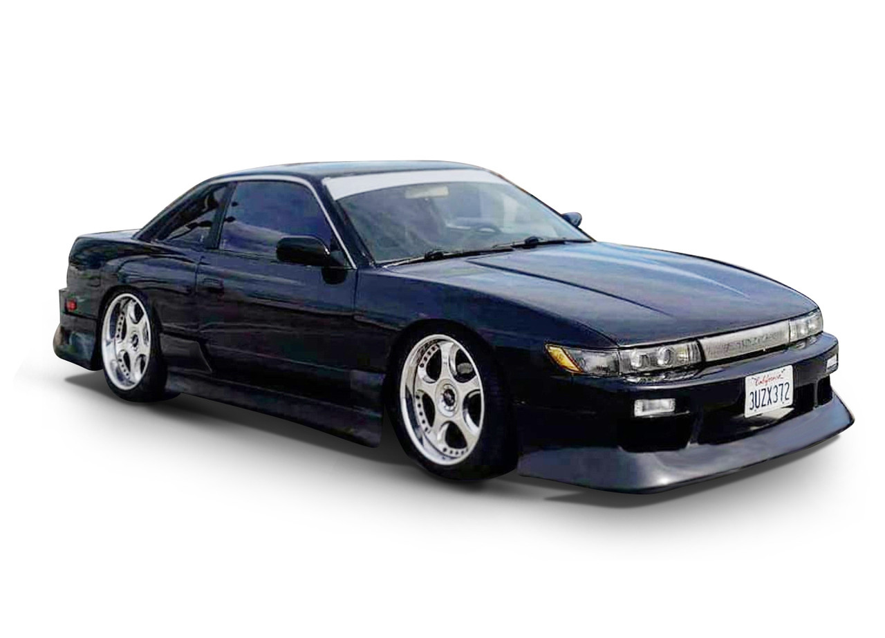 Nissan Silvia S13 Block T Shirt coilovers boost exhaust JDM parts body kit turbo