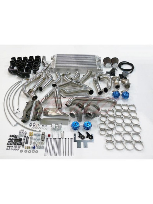 GTM Motorsports VQ37HR Twin Turbo Turn Key Kit Stage 2 700+(Complete Kit)