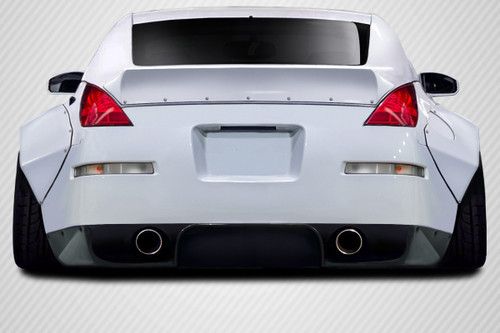 2003-2008 Nissan 350Z Z33 Carbon Creations RBS Rear Diffuser - 3 Piece